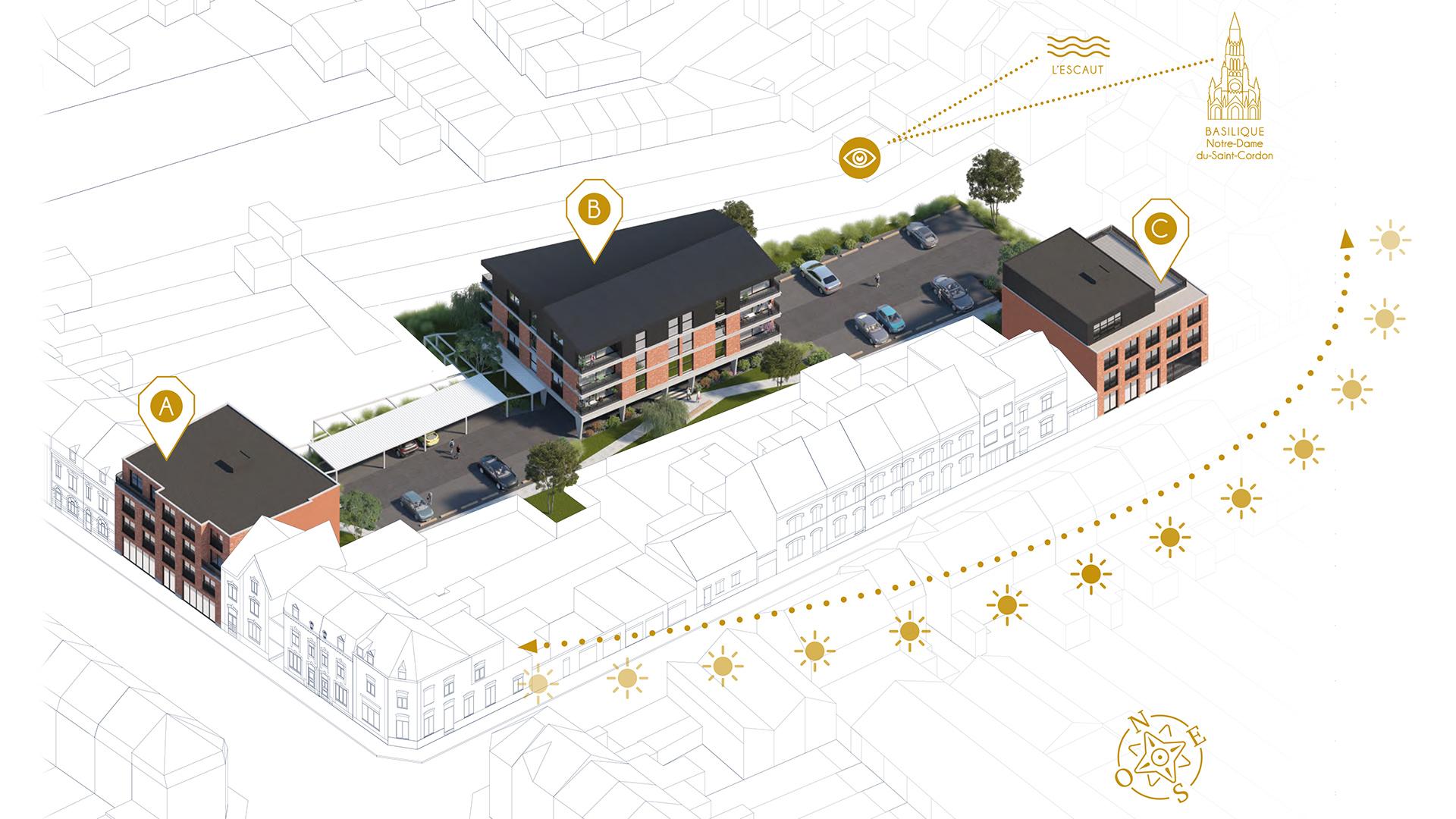 IMCC - Jean-Charles Giardina + Coache Landré Architectes - Intégration graphique : Joseph Talma